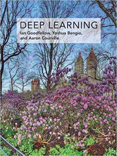"Front cover of ""Deep Learning"""