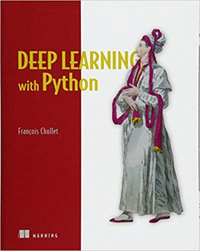 "Front cover of ""Deep Learning with Python"""