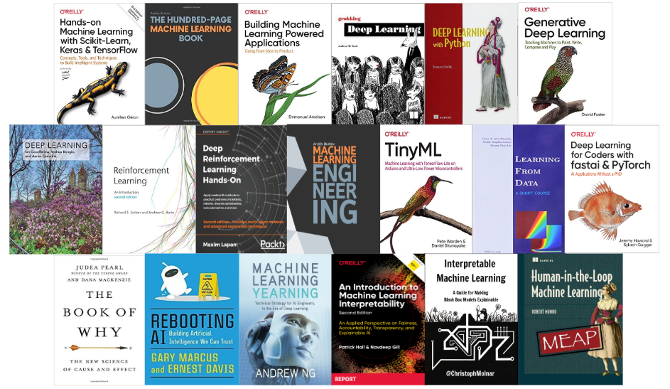 Best Machine Learning Books (Updated for 2020)